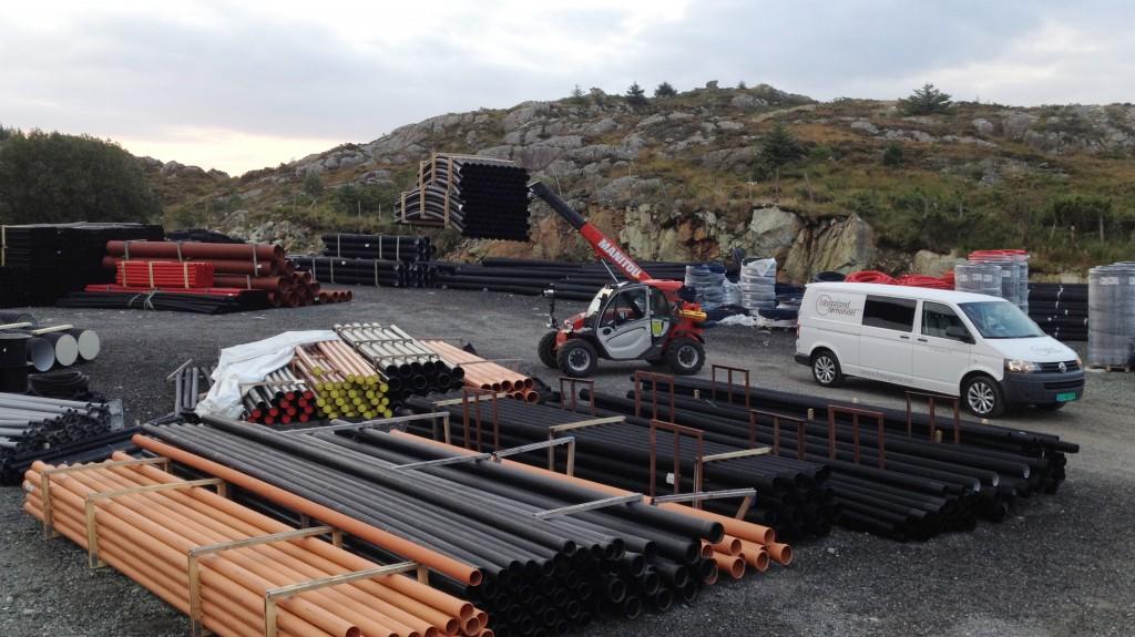 Forhandler av ISODREN i Rogaland og Sunnhordaland, Haugland Rørhandel AS.