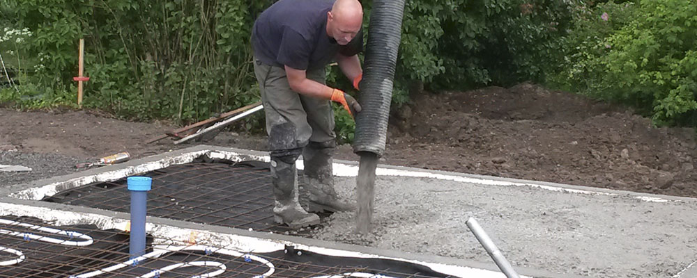 Fuktsikring av plate på mark